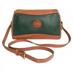 Vintage Dooney AWL Classic Zip Top Bag